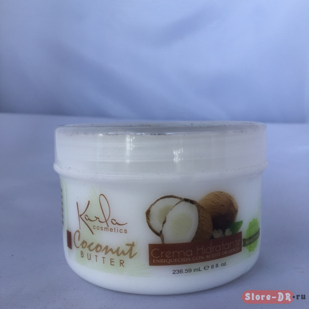 Coconut butter Crema Hidratante Karla cosmetic 236.59 ml 8 fl. oz