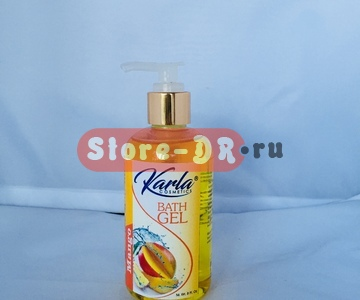 Гель для душа Манго, Bath Gel Mango Karla Cosmetic 8 fl. Oz