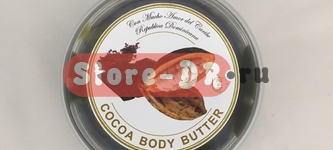 Какао крем для тела, Cocoa Body Butter Manteca de Cacao 8 oz 228 gr The Organic Caribbean