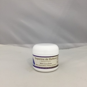 Esperma De Ballena (Sperm Whale) with Cocoa Extra Face Cream 2 oz