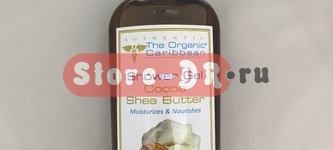 Гель для душа Какао и Масло Ши, Cocoa Shea Butter Shower Gel 8 oz 240ml The Organic Caribbean