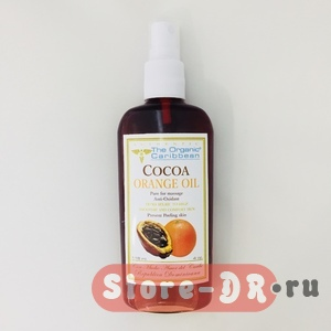 Cocoa Orange Oil Anti-Oxidant 118 ml 4 oz The Organic Caribbean