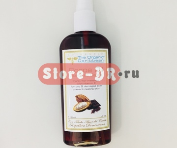 Масло какао, Cocoa Oil ( for massage, anti-oxidant) 4 oz The Organic Caribbean