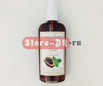 Какао Минт масло для тела, Cocoa Mint Oil Anti -oxidant 4 oz 118 ml The Organic Caribbean