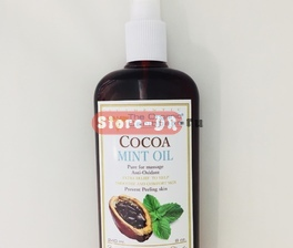 Cocoa Mint Oil Anti -oxidant 8 oz 240 ml The Organic Caribbean