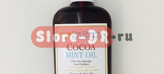 Какао Минт масло для тела, Cocoa Mint Oil Anti -oxidant 8 oz 240 ml The Organic Caribbean