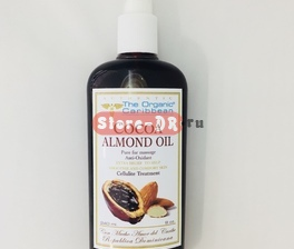 Cocoa Almond Oil Anti -oxidant 8 oz 240 ml The Organic Caribbean