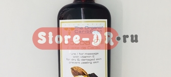 Натуральное масло Какао, Cocoa Oil ( for massage, anti-oxidant) 8 oz The Organic Caribbean