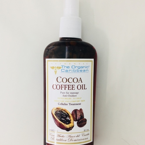 Cocoa Coffee Oil ( for massage, anti-oxidant) 8 oz The Organic Caribbean