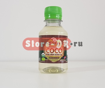 Органическое кокосовое масло (Aceite Extra Virgen de Coco | Extra Virgin Coconut Oil) 4 Oz 118 ml