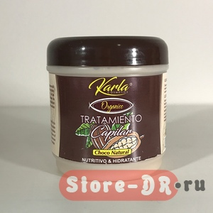 Hair Mask Choco Natural Tratamiento Capilar Karla Cosmetics 16 oz. 450 мл