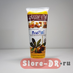 Crema Argan Oil BoePiel SENSATIONS 8.3 Oz. 235 г