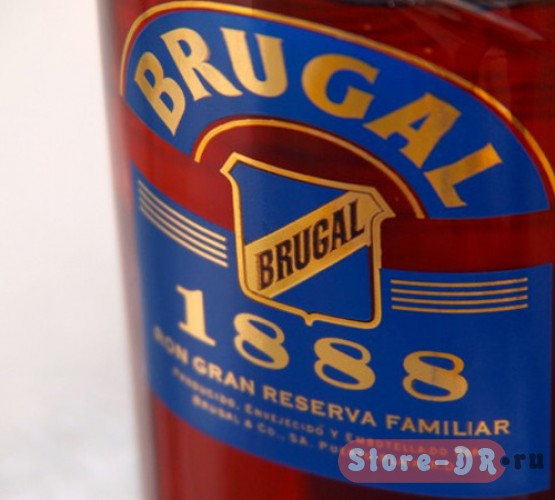 Ром Brugal (Бругал) 1888 «Gran Reserva Familiar» 0.7 л