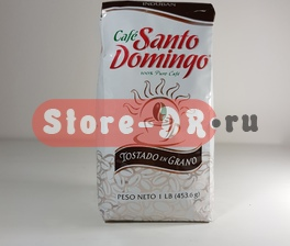 Puro cafe Santo Domingo en Grano 453.6 г