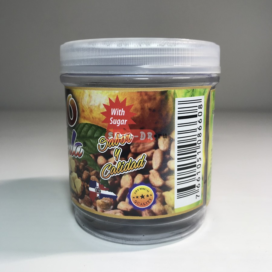 Cacao (Cocoa) with sugar 100% Organic K-RLA 7 oz. 195 г