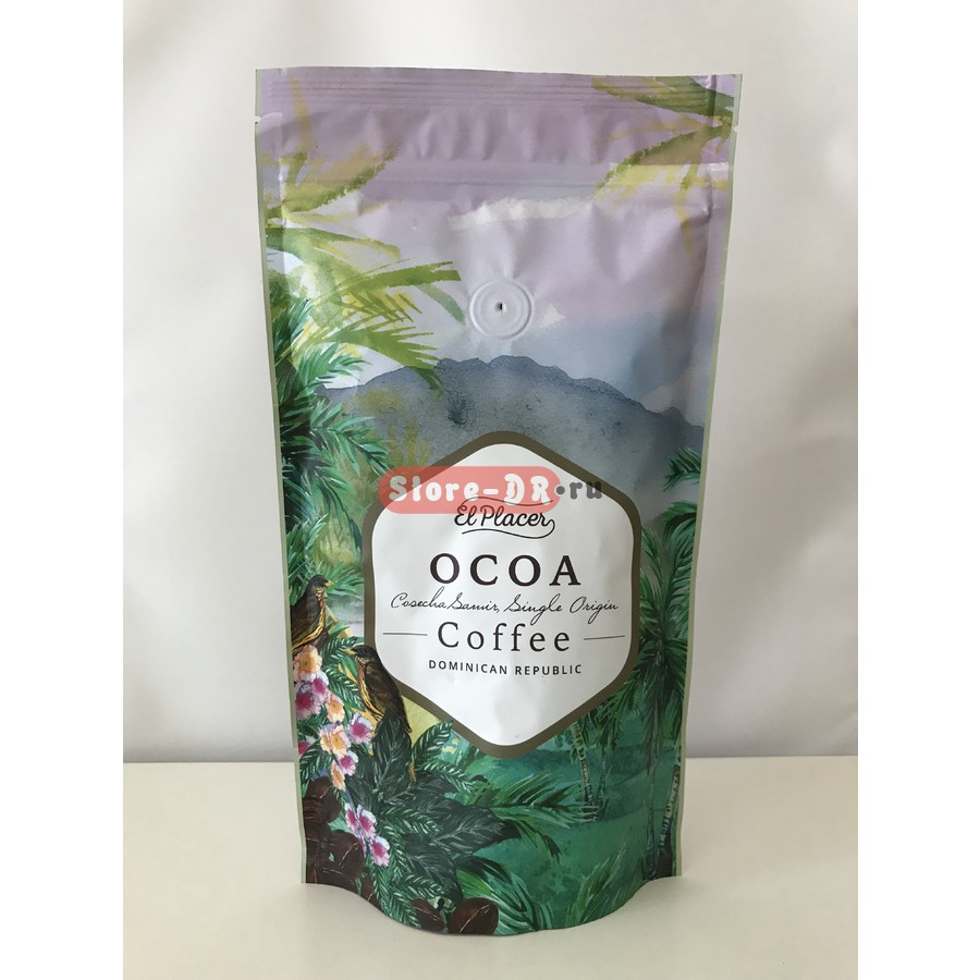 Coffee Molido «Ocoa» Cosecha Samir, Single Origin El Placer 14,1 oz 400 g