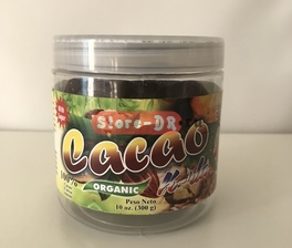 Cacao (Cocoa) with sugar 100% Organic K-RLA 10 oz. 300 g