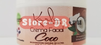 Крем для лица (Crema Facial) Кокос | Coco Karla Cosmetics 4 oz, 118.2 ml