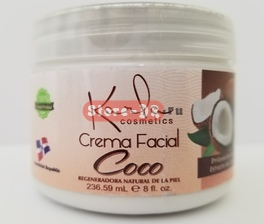 Crema Facial Coco Karla Cosmetics 8 oz, 236.59 ml