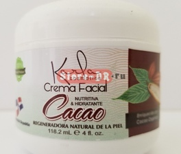 Crema Facial Cacao Karla cosmetics 4 oz, 118.2 ml