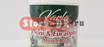 Мазь (Unguento) Нони и Эвкалипт | Noni & Eucaliptus Muscle Rub Karla Cosmetics 6 oz 177.45ml