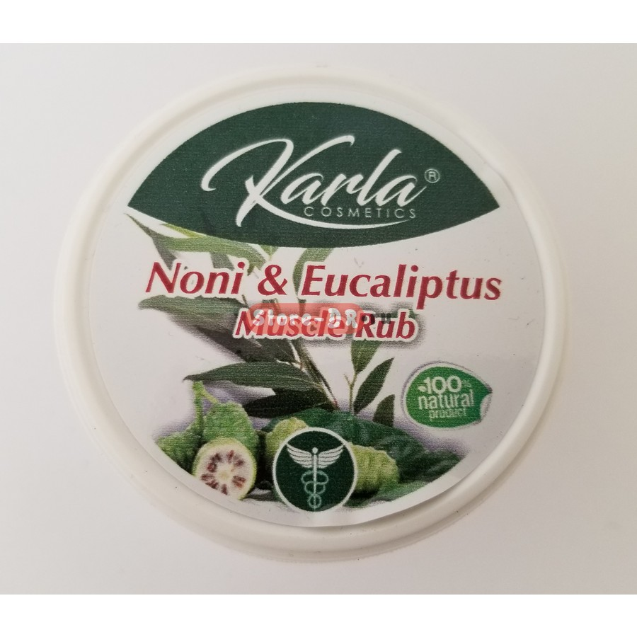 Noni & Eucaliptus Muscle Rub Karla Cosmetics 8 oz 236.59 ml