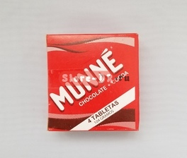 Munne Chocolate 4 tabletas 104 g