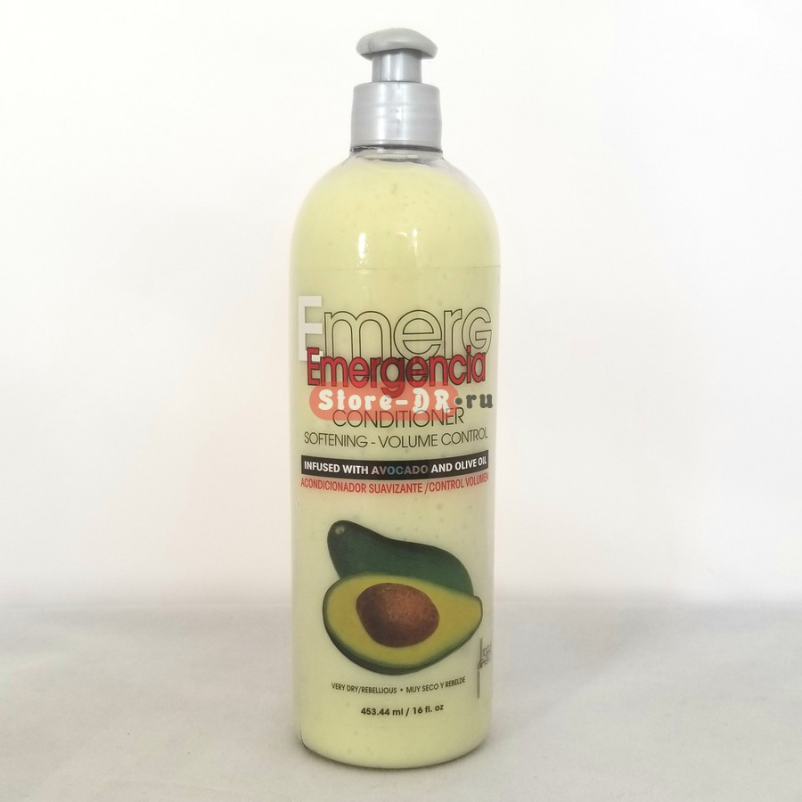 Emergencia Conditioner Softening-Volume Control Avocado & Olive Oil 16 oz
