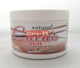 Natural Manteca de Cacao Soft Cocoa Butter K-rla 8 oz 220g