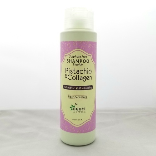 Shampoo Pistachio & Collagen Hidratante by Ogoyi Cosmetics 16 oz 450 ml
