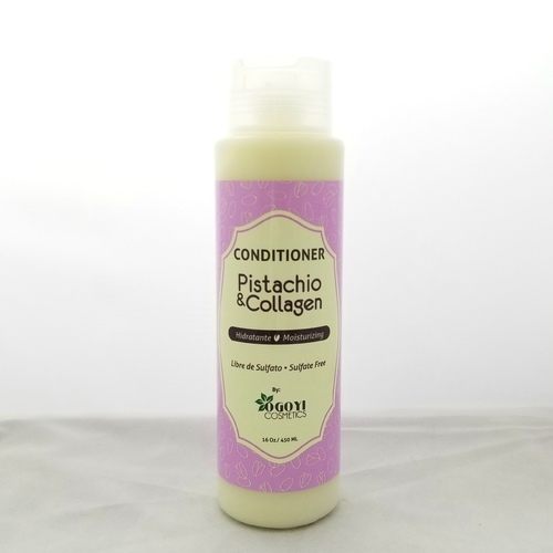 Conditioner Pistachio & Collagen Hidratante by Ogoyi Cosmetics 16 oz 450 ml