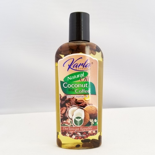 Natural Coconut Oil with Coffee Karla Cosmetics 4 oz