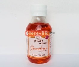 Aceite de Zanahoria (carrot oil) Laboratorios COLLADO 4 fl. oz. 120 ml