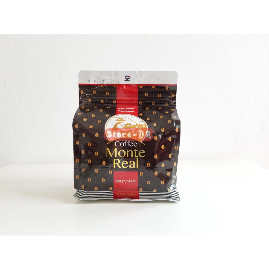 Cafe Whole bean (Gourmet) Monte Real 400 g 14.1 oz