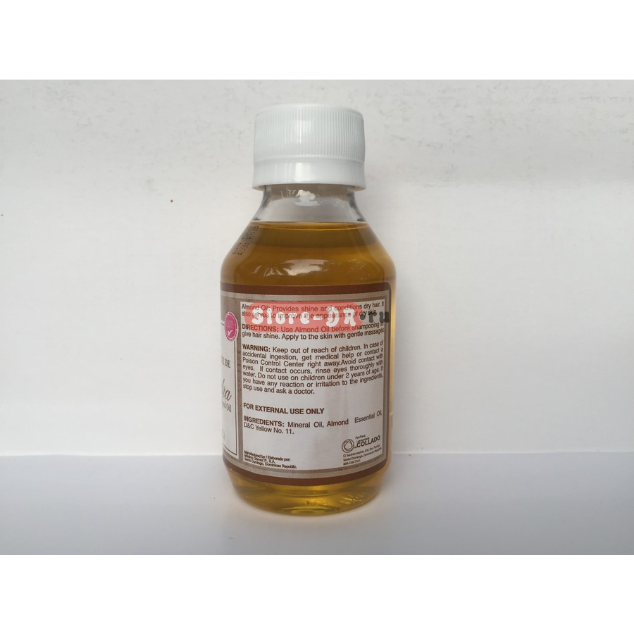 Aceite de Almendra (almond oil) Laboratorios COLLADO 4 fl. oz. 120 ml