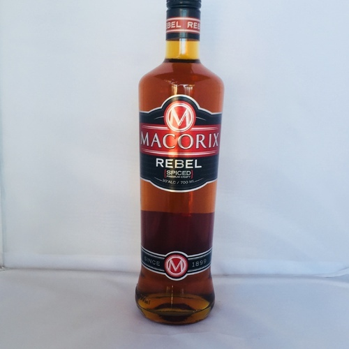 MACORIX REBEL ( spiced premium craft) 30 % alc. 700 ml