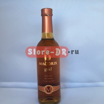 Ром примиум класса MACORIX GOLD , Ron dorado ultra premium from 1899, 37.5% alc. Vol. 750 ml