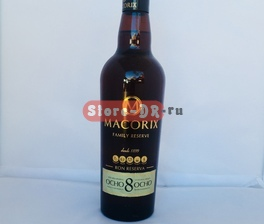 MACORIX FAMILY RESERVE OCHO 8 años ron reserva 37.5 vol. (700 ml)