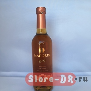 MACORIX GOLD Ron dorado ultra premium 37.5% alc. Vol. 375 ml.