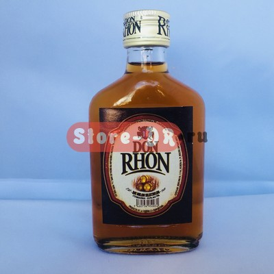Ром дорадо , DON RON , dorado seleccionado 1942 37.5 % alc. 175 ml